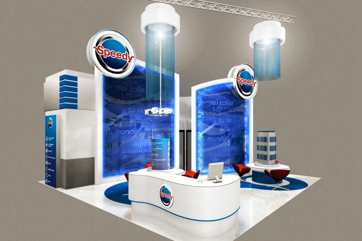 Diseño de stand para ferias, , stands a medida, stand modular, eventos feriales, stand personalizado, diseño industrial, Europa, España, Marketing Ferial, Publicidad Exterior, arquitectura espacios efímeros, rotulación, speedy